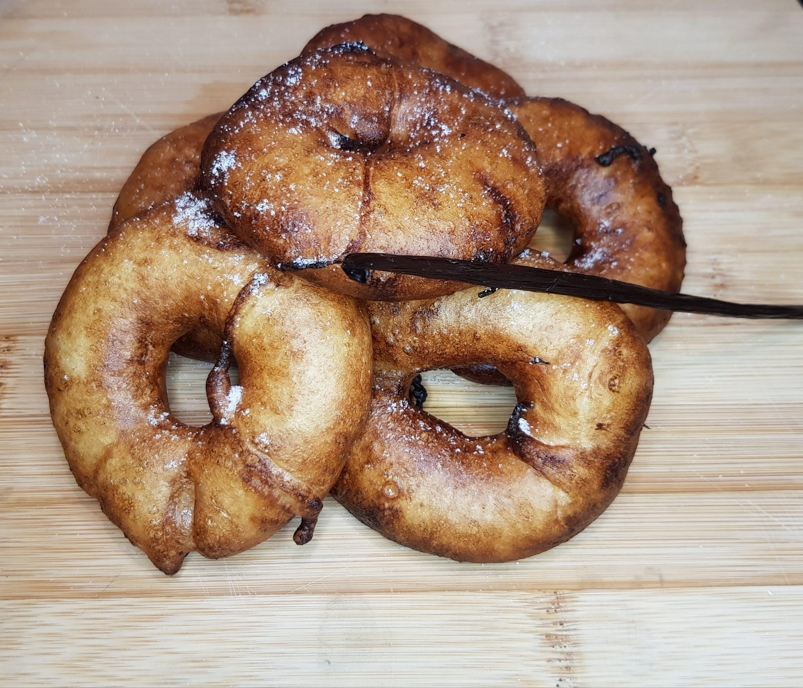 Recette de beignets Vegan à l'ananas