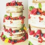 Wedding cake - Naked cake - Veggie Avenue