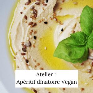 Atelier Apéritif dînatoire vegan et sans gluten - Veggie Avenue
