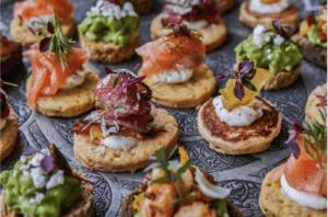 Cours de cuisine privatif : Thème Apéritif dînatoire ou déjeunatoire vegan