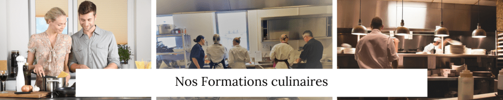 Nos formations culinaires - Veggie Avenue