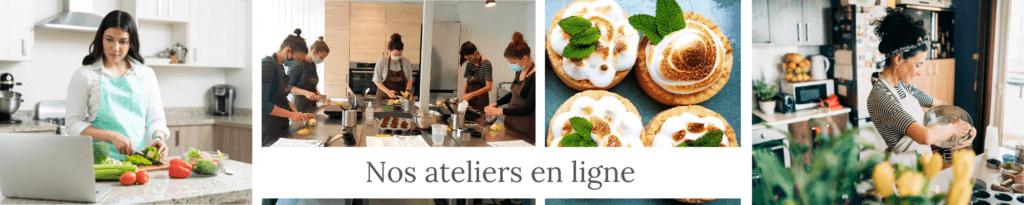 nos ateliers de cuisine en ligne - Veggie Avenue
