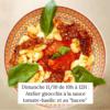 "Atelier : Gnocchis, sauce tomate-basilic, ""bacon"" vegan - Veggie Avenue"