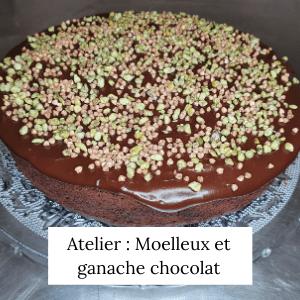 Moelleux au chocolat, ganache au chocolat - Veggie Avenue