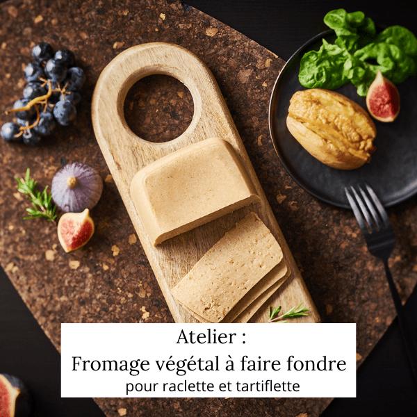 Fromage végétal pour raclette ou tartiflette