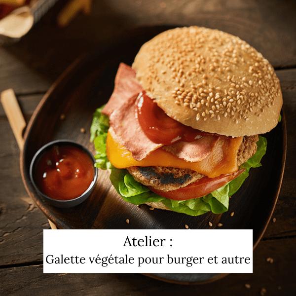 Galettes végétales (burgers et autres plats)