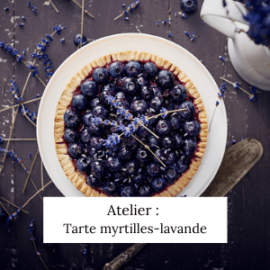 Atelier tarte myrtilles-lavande - Veggie Avenue